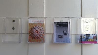 Kunst im Fenster - Flyer zum Fenster