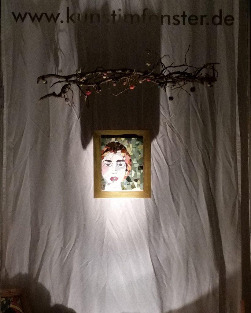 präsent - Fenster bei Nacht