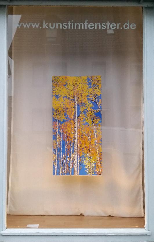 Johannes Bachor | Birken im Herbst | Öl auf Leinwand